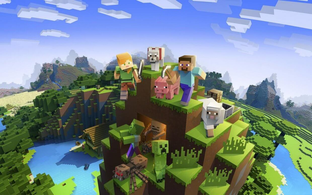 Minecraft cover game download