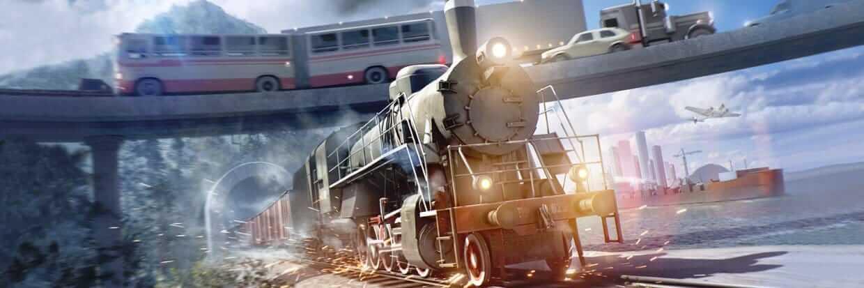 Transport Fever 2 cover game download