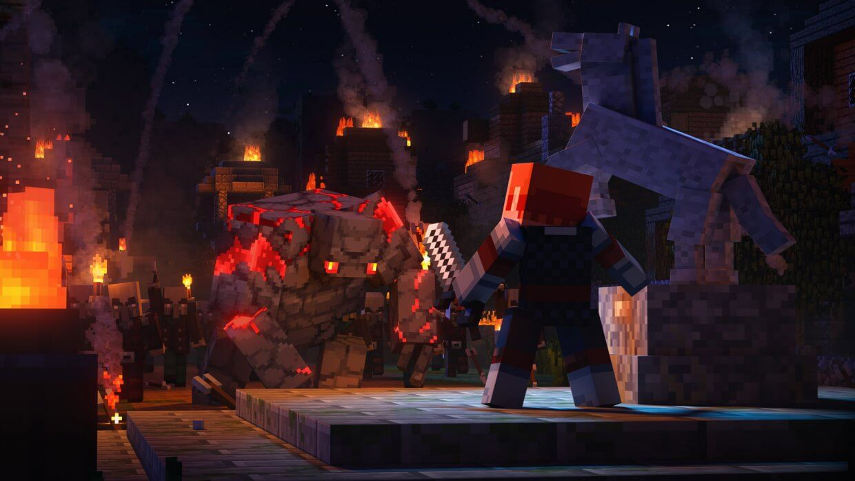 Minecraft Dungeons cover game download