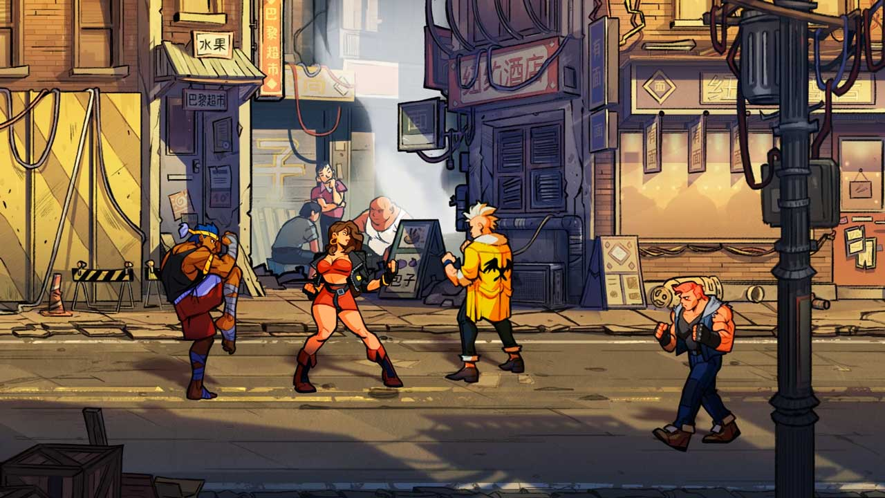 Streets of Rage 4 download free gameplay