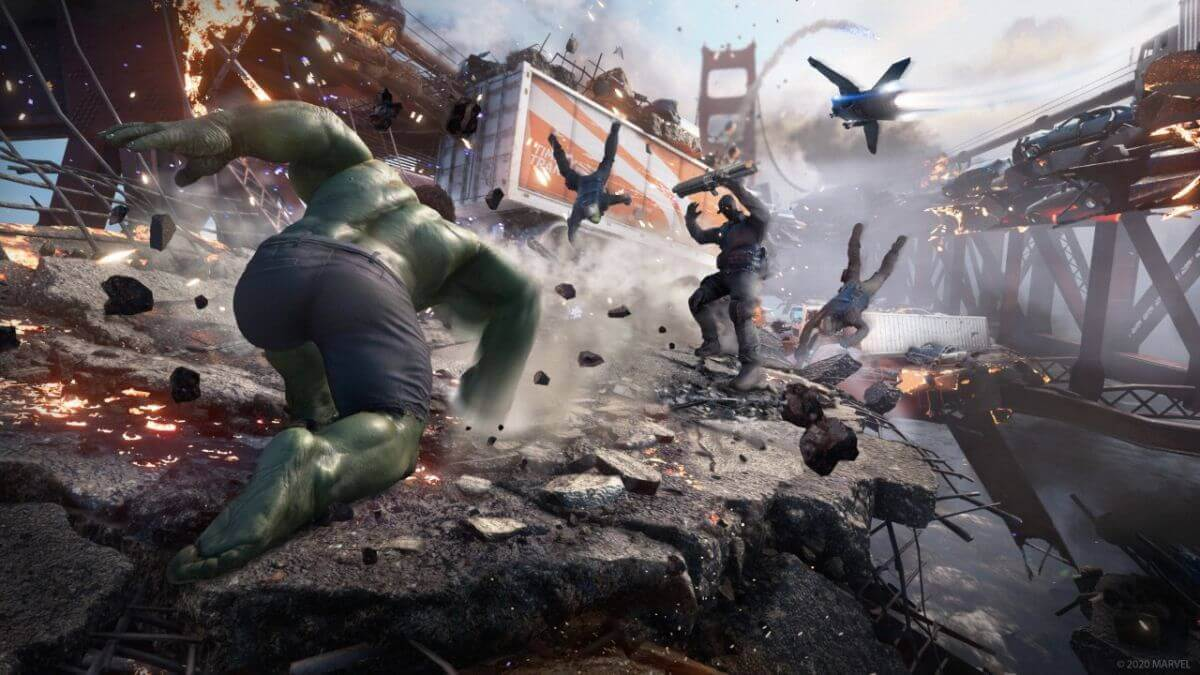 Marvel's Avengers cover game download