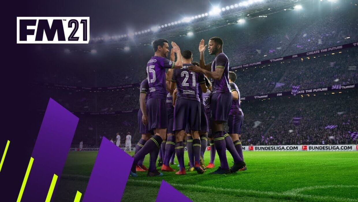 Football Manager 2021 cover gameplay