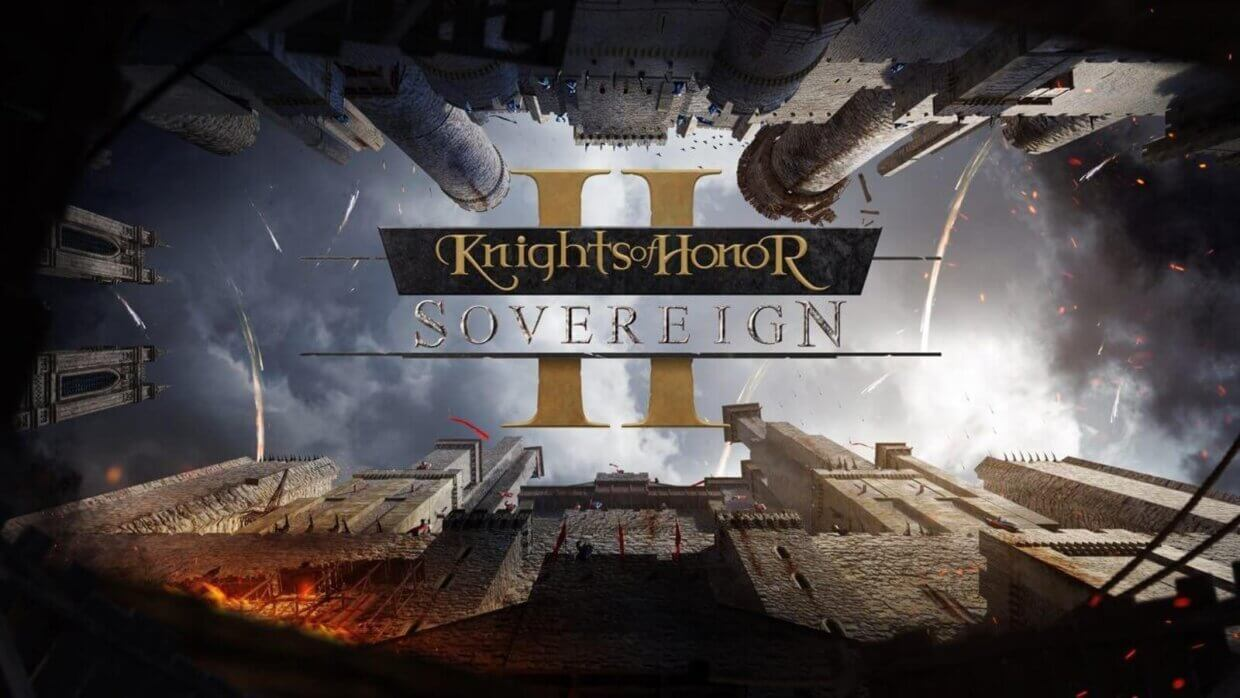 Knights of Honor II Sovereign cover game download