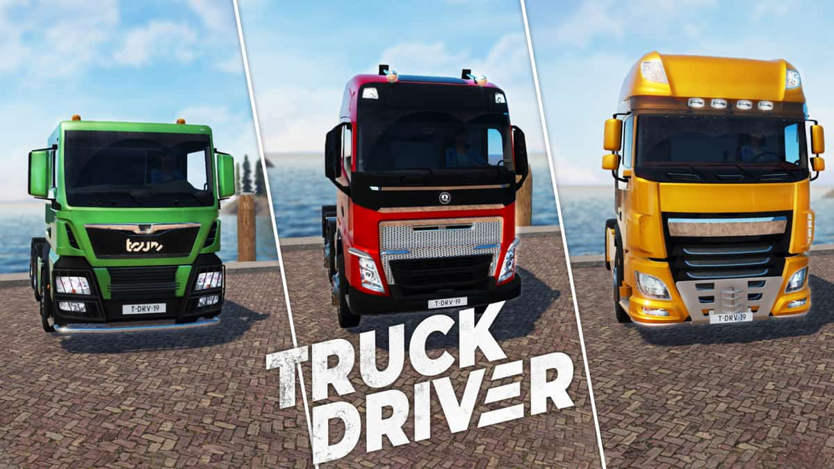 Truck Driver cover game download
